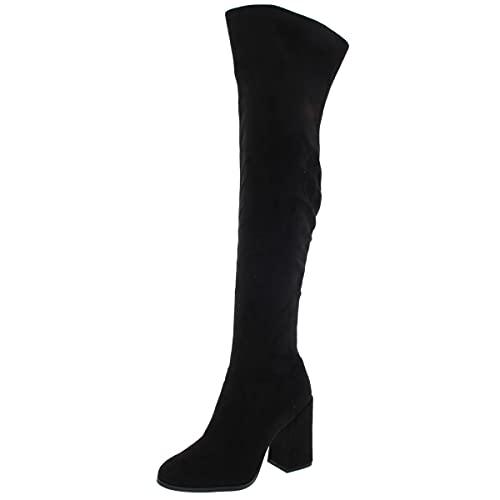 Jessica Simpson Women's Brixten Over-The-Knee Boot, Black, 6