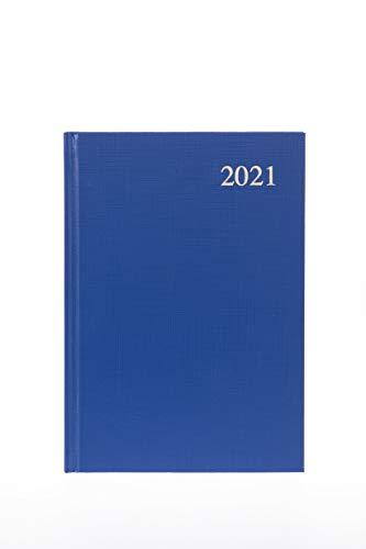 Essential Phytosterolins Collins Essential - Agenda giornaliera 2021, formato A4, colore: Blu