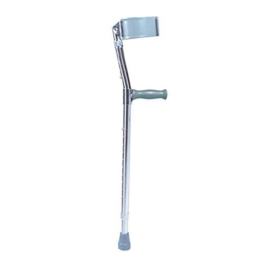WANGXIAOLINshouzhang Altura Ajustable muletas, bastón del Codo for los jóvenes y Elder, súper Ligero y Estable Piernas Antebrazo Muletas de Apoyo Palo después de una lesión o cirugía