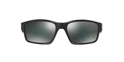 Oakley - Gafas de sol Rectangulares Chainlink para hombre, Steel/Black Iridium (S3)