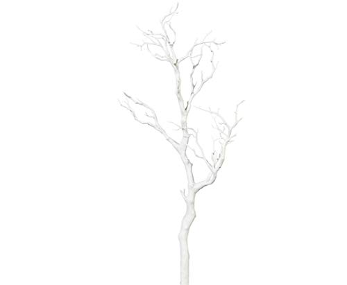 kunstpflanzen-discount.com Dekoast weiß mit 73cm aus PE Material