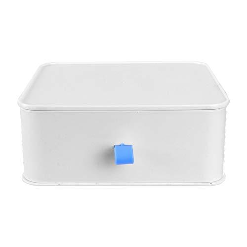 Cabilock Caja Organizadora de Cajones de Escritorio Caja Apilable de Plástico Organizador de Escritorio de Oficina Gabinete Caja de Costura Estante de Correo para Mostrador de Mesa