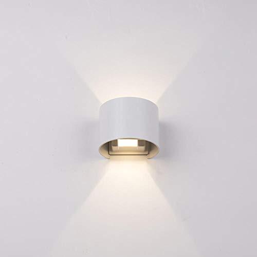 Instelbare LED-wandlamp buiten waterdicht IP65 Moderne Scandinavische binnenwandlamp veranda tuinlamp naar boven AC90-260V