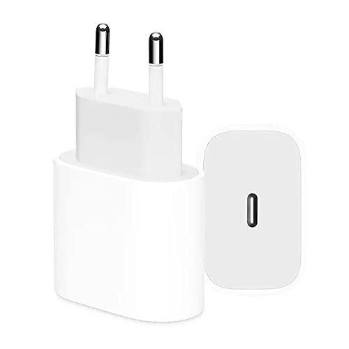 iPhone Ladegerät 20W, USB C Schnellladegerät,mit Kabel1.2mTyp C,USB C PD Fast Charger Ladestecker Power Delivery kompatibel für iPhone 13/13 pro Max12,12 Pro Max,12 Mini,11,11 Pro,