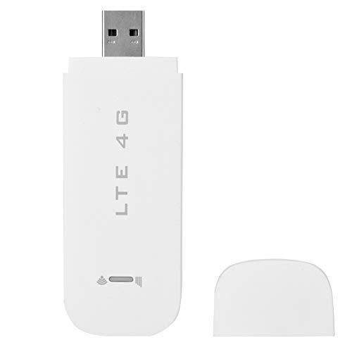 Cocosity Adaptador 4G LTE Adaptador de enrutador 4G inalámbrico Enrutador Adaptador de Red USB Modem Stick USB Enrutador de Punto de Acceso WiFi para Dormitorio al Aire Libre Oficina en casa