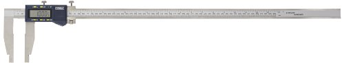 "Fowler Full 2 Year Warranty Xtra-Range Electronic Caliper, 54-100-024-1, 0-24"" Measuring Range, 4"" Jaw Depth, 0.0005"" Resolution"