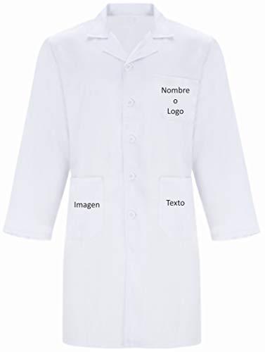 YISAMA Batas de Laboratorio Personalizada Unisex Médico Enfermera Uni
