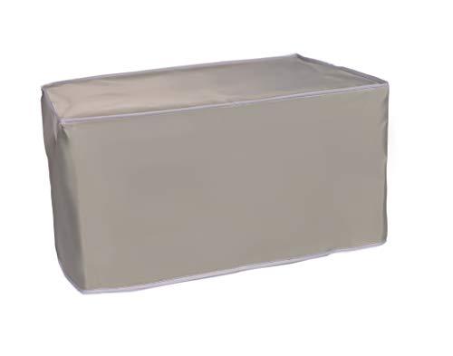The Perfect Dust Cover LLC Staubschutz, silbergraue Nylonhülle für Martin Yale 2051 SmartFold Papierfaltmaschine, antistatisch, wasserdicht, Maße 100 x 55 x 45 cm (B x T x H)