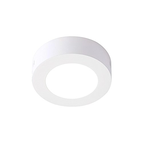 LEDUNI ® Downlight Plafón Superficie LED Redonda 6W 480-520LM Color Blanco Neutro...
