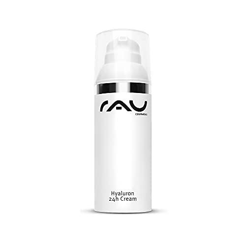 RAU Cosmetics Hyaluron Creme Gesicht - Hyaluron 24h Cream 50ml - Anti-Aging Creme mit...