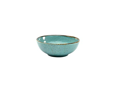 Dipschale 4er Set |Schälchen | Dessertschale NATURE COLLECTION | Steinzeug | Blau | Ø 11,5 cm