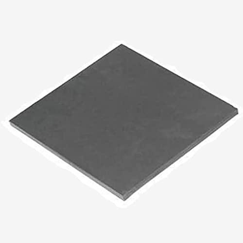 AIMIMI Wolfram-Blech, Spezialmetall, Rohstoffe, Wolfram-Blockfolie für wissenschaftliche Forschung und Experimente, 100 mm x 100 mm, 0,8 mm x 100 mm x 100 mm.