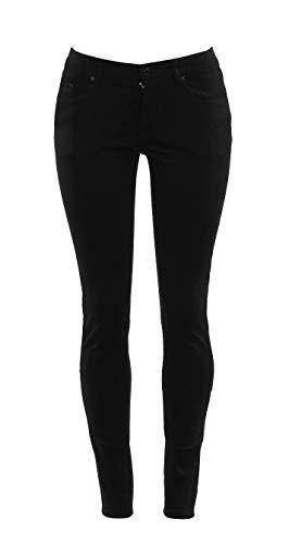 Access Junior's Uniform Skinny Pants (3/4, Black)