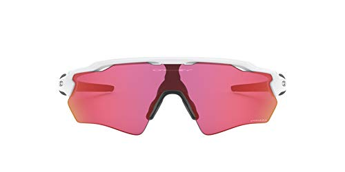 Oakley Youth Kids' OJ9001 Radar EV XS Path Polarized Shield Sunglasses, Polished White/Prizm Field, 31 mm