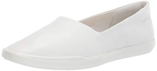 Ecco Damen SIMPILW Slipper, Weiß (White 1007), 38 EU