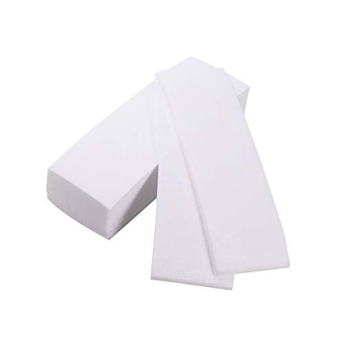 EXCEART 300 Stks Wax Strips Non-Woven Body en Facial Wax Strips Ontharing Wax Strips Voor Armen Benen Onderarm Haar Wenkbrauw Bikini