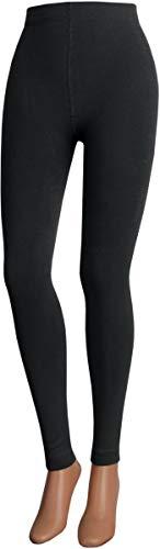 Thermo Legging 'Extra warm'' zwart atraiet donkergroen Brodeaux marine voor dames en tieners CH-0740