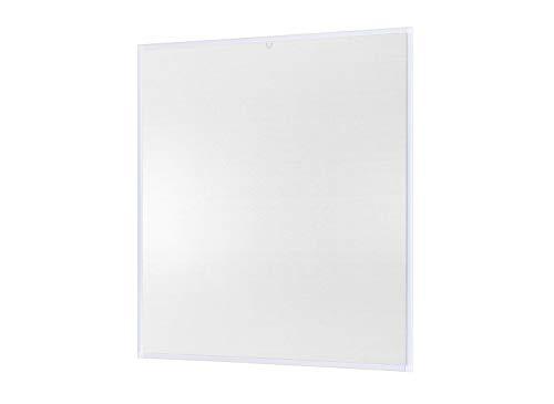 empasa Insektenschutz Fliegengitter Fenster Alurahmen Basic Zuschnitt weiß, braun oder anthrazit, in verschiedenen Größen, ohne Bohren und Schrauben