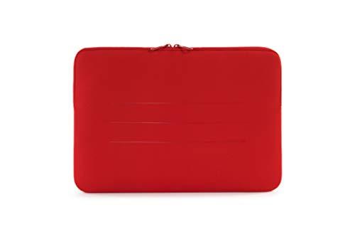Tucano BFS15 R Second Skin Segno Neopren Hulle fur Notebooks bis 156 Zoll MacBook Laptop Surface Rot