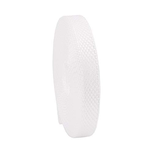 Rollladengurt 14/15 mm in Weiß, 6m MADE IN GERMANY, Gurtband für Rolladen und Jalousie, Mini Rolladengurt strapazier- und reißfest, stabiles Rolladenband