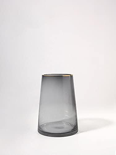 Yanyangtian Vaso di Vetro Floreale Alto.Ideale per Tagliare Fiori Matrimoni aromaterapia Fai da Te progetti di Artigianato votivi candelieri Giardini Spa.Porta votiva della Candela delle Lanterne