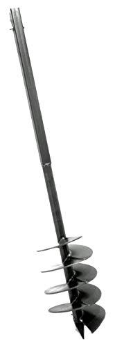 MWS-Apel 180 mm Bohrkopf Erdbohrer Erdlochbohrer Brunnenbohrer Pfahlbohrer Handerdbohrer Bohrgerät f. Brunnen und Rammfilter