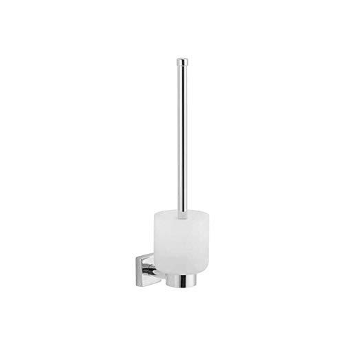 Porte-brosse wc suspendu cara - Profondeur : 105 mm - Hauteur : 397 mm - Largeur : 105 mm - Platine : 50 x 50 mm - Matériau : Laiton - Décor : Chromé - ITAR