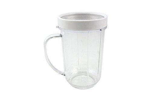 Nutriexpress Trinkbecher mit weißem Rand für den Smoothie Maker von Nutriexpress Granat