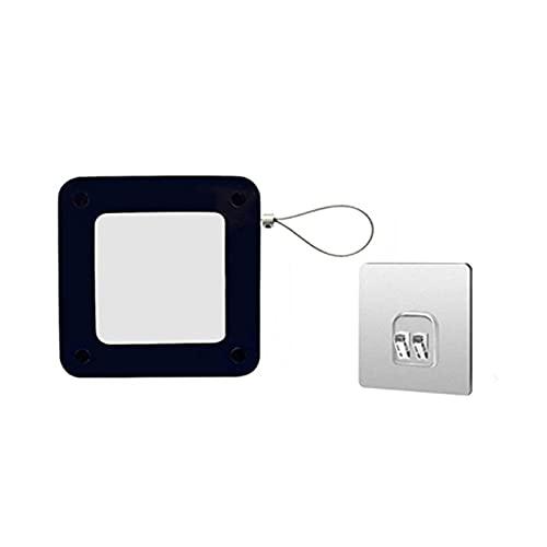 Reversty Puerta automática Multifuncional sin Golpe. (Color : Black)