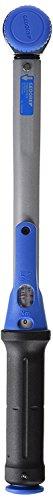 Gedore Torcofix momentsleutel, 3/8 inch, 10-50 Nm, omsteekvierkant met kogelbeveiliging, stalen buis, zwart/blauw