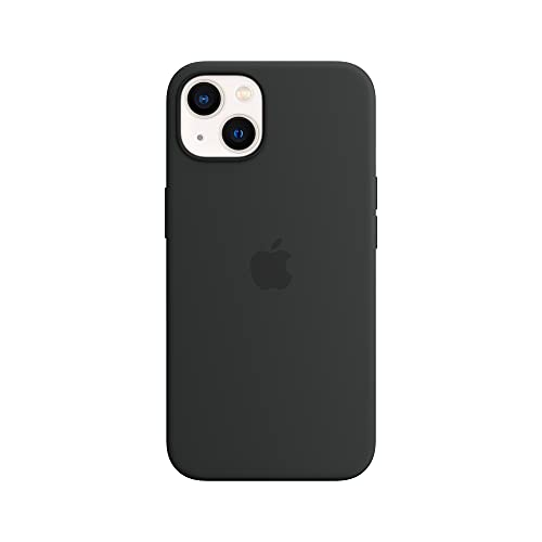 Apple SilikonHülle mit MagSafe (für iPhone 13) - Mitternacht