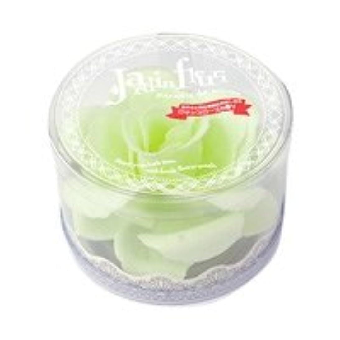 インレイ引退するカブジャンダンフルリ バスペタル ボックス「ペール グリーン」6個セット ロマンスローズの香り