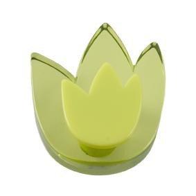 Lafinesse bouton de meuble/armoire/vert tulipe pommo designs