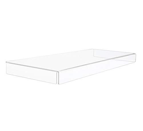 Combination of Life 48.2x19x3.3cm Premium Acryl klar Tastatur Ständer und Cover Clear Cover