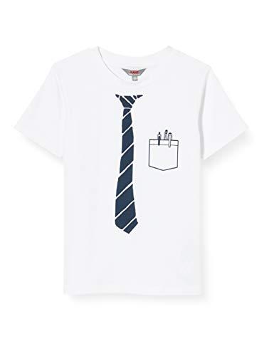 Kanz T-Shirt 1/4 Arm, Bianco (Bright White White 1000), 104 Bambino