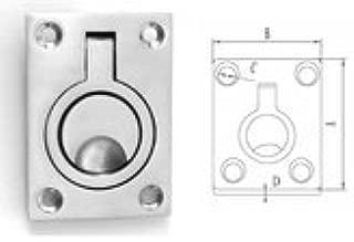 Marine Part Depot Stainless Steel Flush Ring Pull