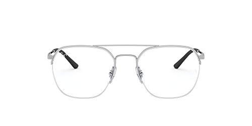 Ray-Ban Unisex RX6444 Lesebrille, SILVER, 51