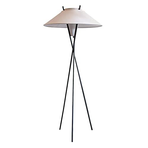 SHIJIANX Lámpara de pie-Sala de Estar Dormitorio lámpara de Noche-diseño Creativo Minimalista-lámpara de pie-Pantalla de Tela
