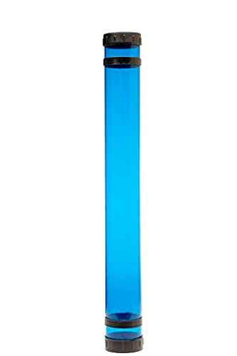 Alvin, tube mailer, 25 x 2. 75 inches, blue