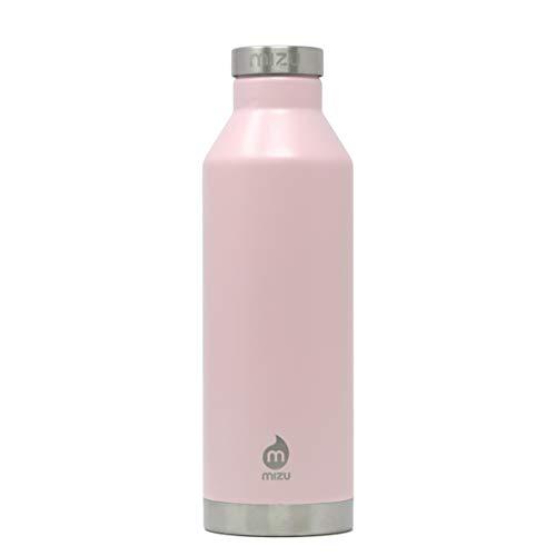 Mizu Unisex– Erwachsene V8 Trinkflasche, Soft Pink, One Size