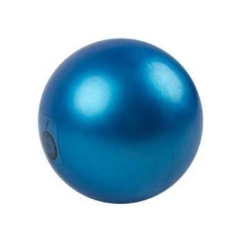 Amaya - Pelota de gimnasia rítmica, plástico, azul real 420 g ...