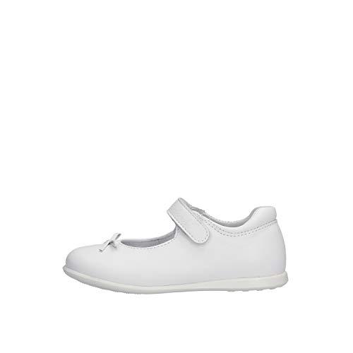 Balocchi 491478 20/24 Paris Bianco Scarpe Bambina Ballerina Strappo 20