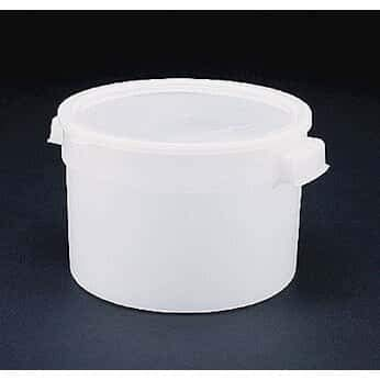 Affordable Bain Marie HDPE Container, 20 Quart; 6/Pk