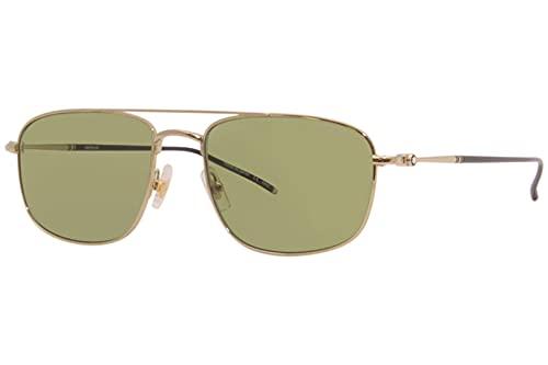 Gafas de Sol Mont Blanc MB0127S Gold/Green 56/18/145 hombre
