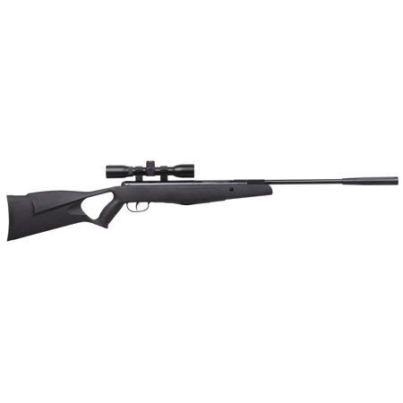 Crosman F4 Classic NP .177 Caliber Break Barrel Air Rifle with Scope, 1200fps | Air Rifle Nitro Piston Reduce Noise