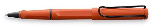 LAMY Safari 341 – Bolígrafo de punta redonda moderna en color terracota con mango ergonómico y diseño atemporal, con mina M 63 negra, trazo M M