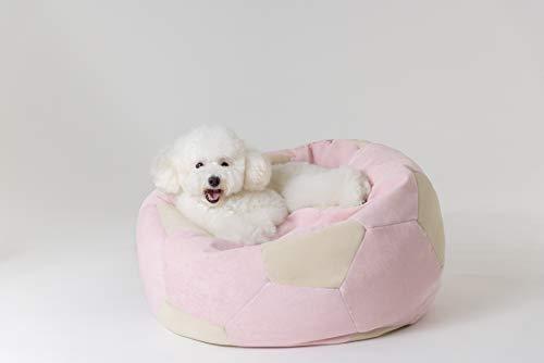 Eterno LazyBall Sitzsack für Hunde und Katzen: Gute Unterstützung, Mikrofaser-Bezug, wasserabweisend, leicht zu reinigen, langlebig, milbenfrei, weich und atmungsaktiv, maschinenwaschbar