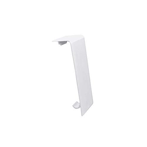 Habengut  Verbinder für Sockelleiste aus PVC  Inhalt: 2 Stück - für die Verbindung von Sockelleisten