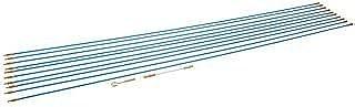 Silverline 633531 - Juego de varillas pasacables, 13 pzas (10 x 1 m)
