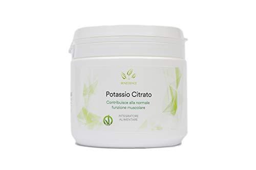 Benessence - Potassio Citrato in polvere solubile - 500 g - 250 Giorni di Integrazione